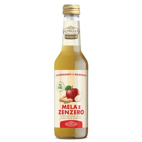 Succo di mela e zenzero