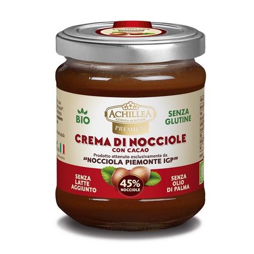 Crema di Nocciole IGP 45% con cacao