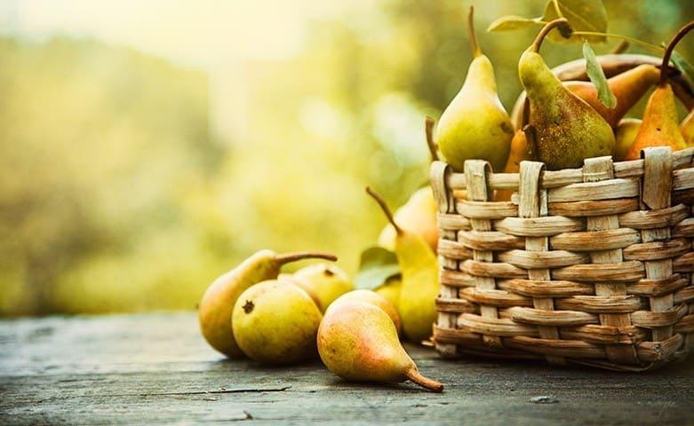 Le pere, un dolce regalo d'autunno